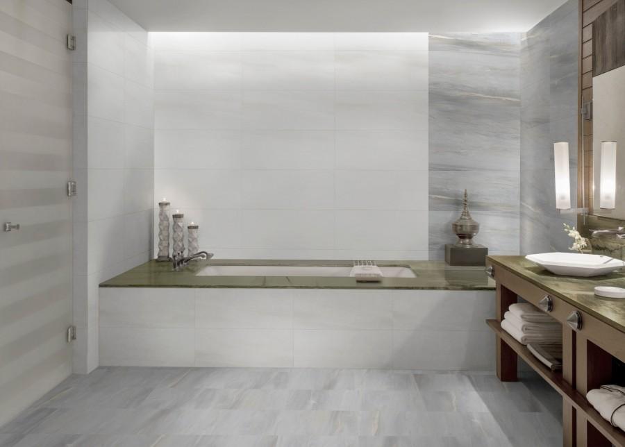 Asia Blanco wall & Gris floor&wall ...