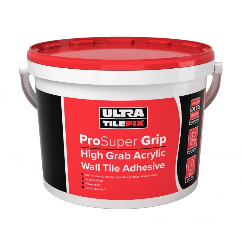 Ultra Pro Grip Hg Wall Adhesive 15kg Tub Tiles 2 Go Ltd