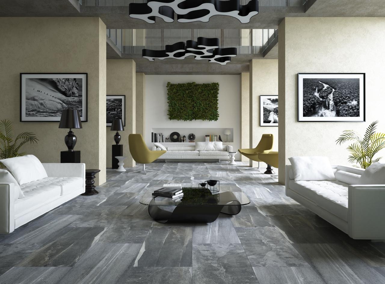 Santorini Grey Wall Floor Tile 45x90 Tiles 2 Go Ltd