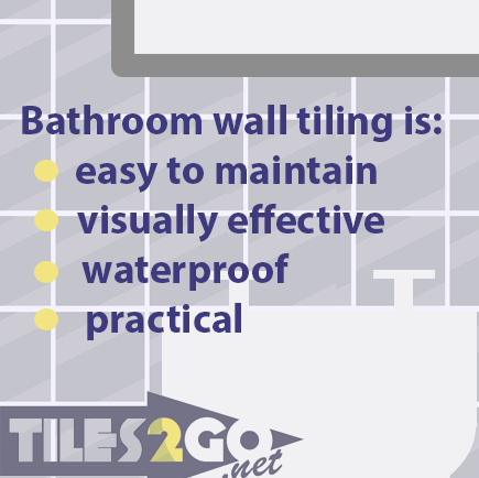 advantages of bathroom tiles