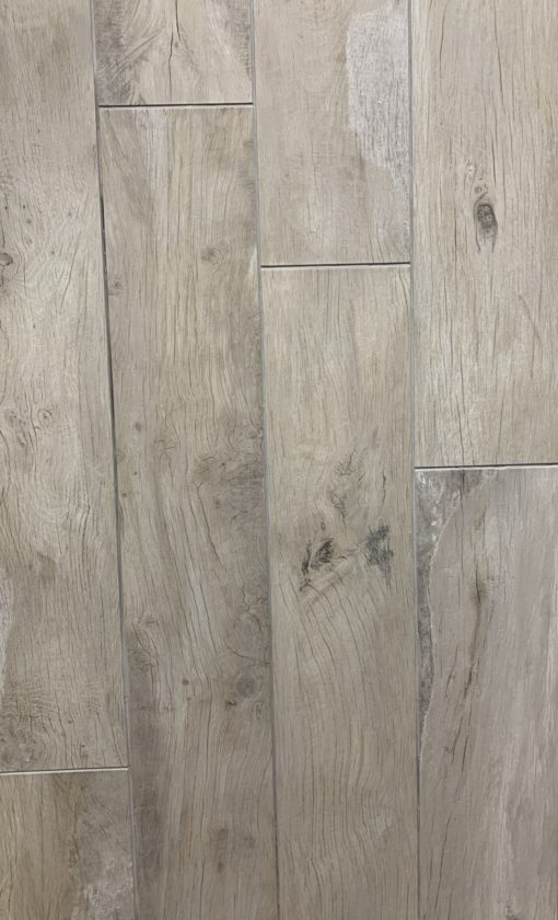 Forrest Wood Ivory 20x120 Italian Porcelain Plank